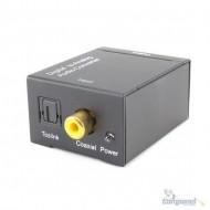 Conversor Áudio Digital X Analógico Coaxial Óptico E Rca